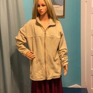 Columbia fuzzy jacket Mocha XXL
